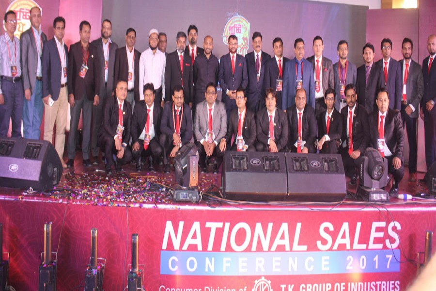 Pusti Consumer Division holds sales conference