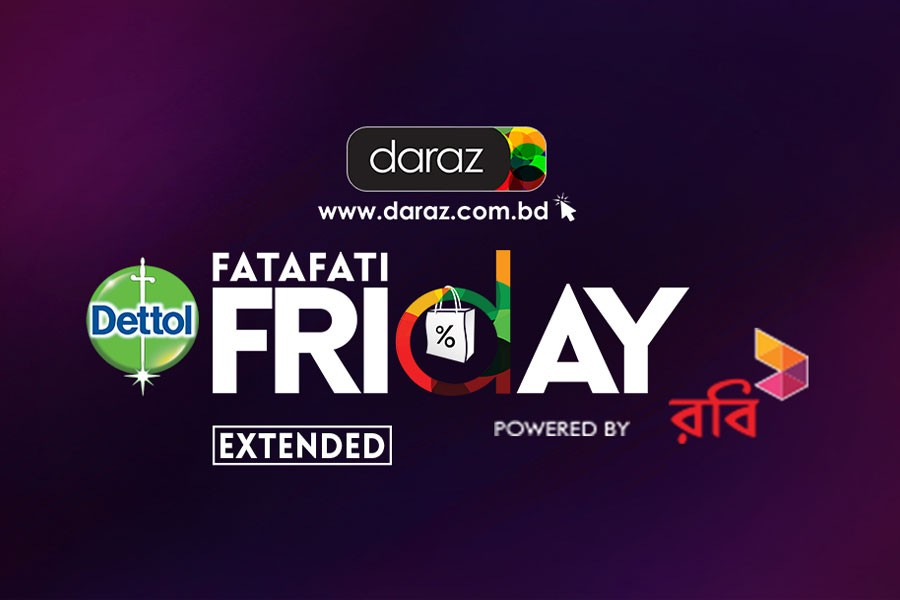 Daraz shoppers get another chance for 'Fatafati' deals