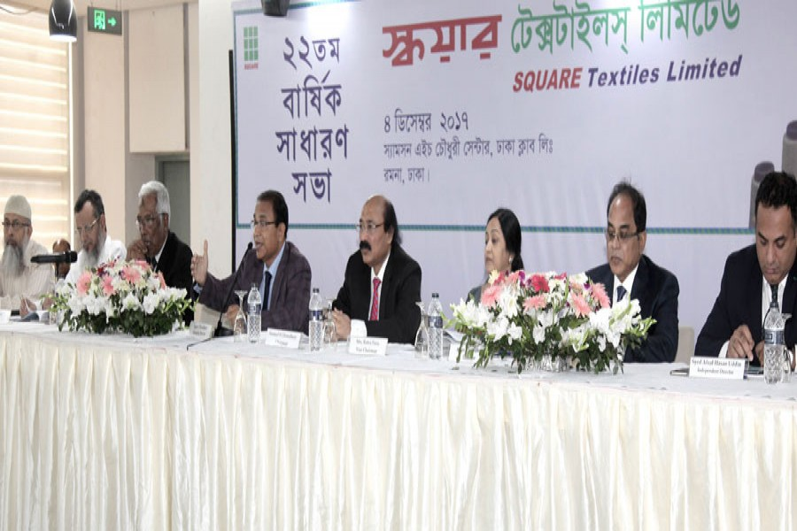 AGM held; Square Textiles approves 25pc dividend
