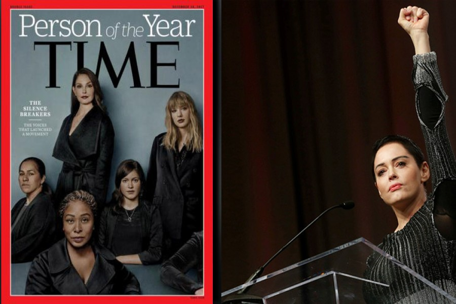 #MeToo campaigners become Time Person of the Year