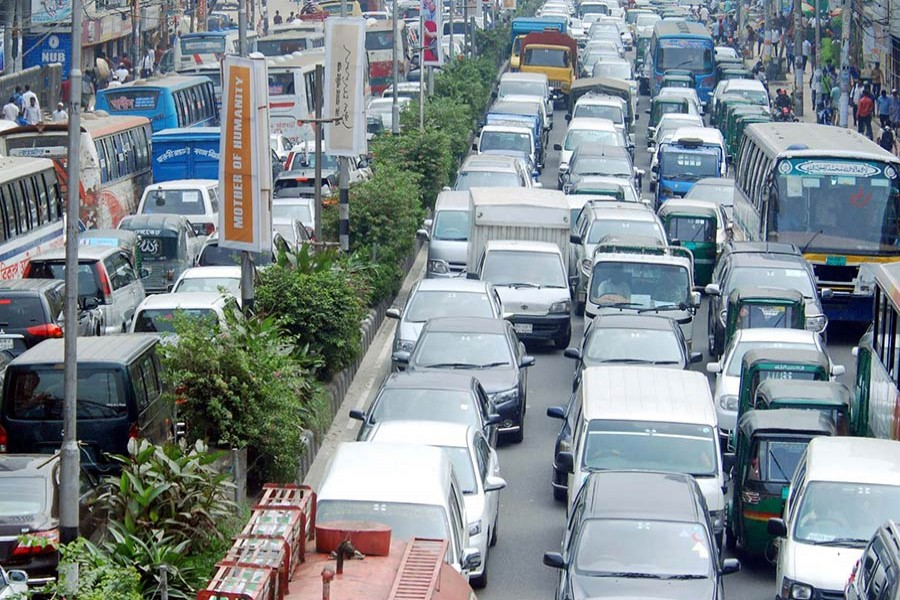 According to BRTA data, on average 58 new private cars are pressed into service every day in Dhaka now. - Focus Bangla photo