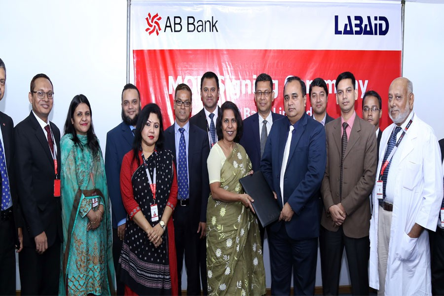 AB Bank inks deal with Labaid Group