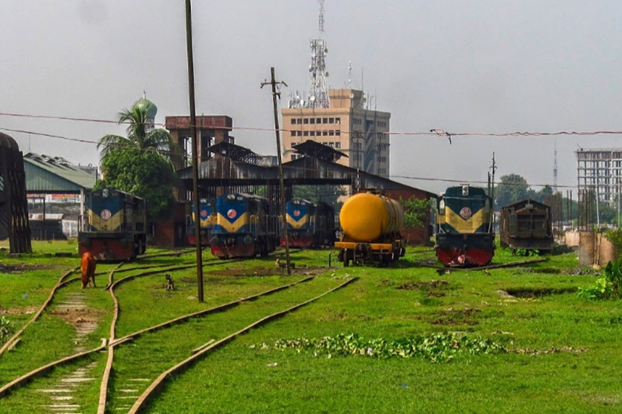 Khulna railway station (Collected Photo)