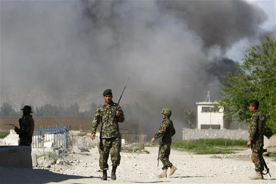 Afghan soldiers: File photo