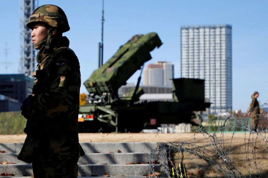 Japan boosts defence budget to record levels