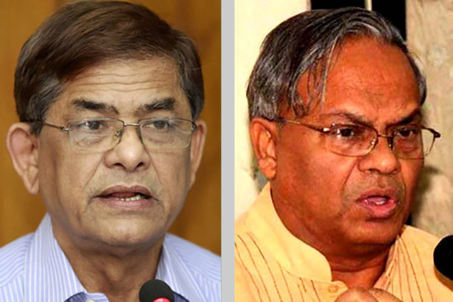 Fakhrul, Rizvi differ over Rangpur city election