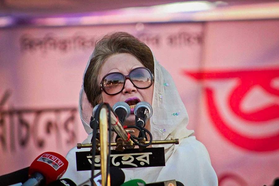 Govt' cannot prevent BNP from participating in election: Khaleda