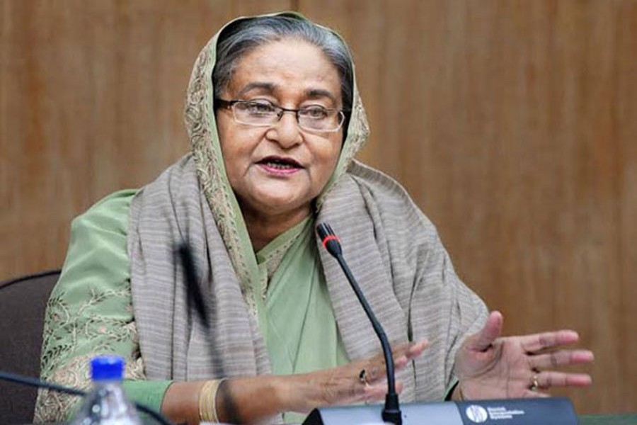 Hasina criticises Khaleda's Padma Bridge comments