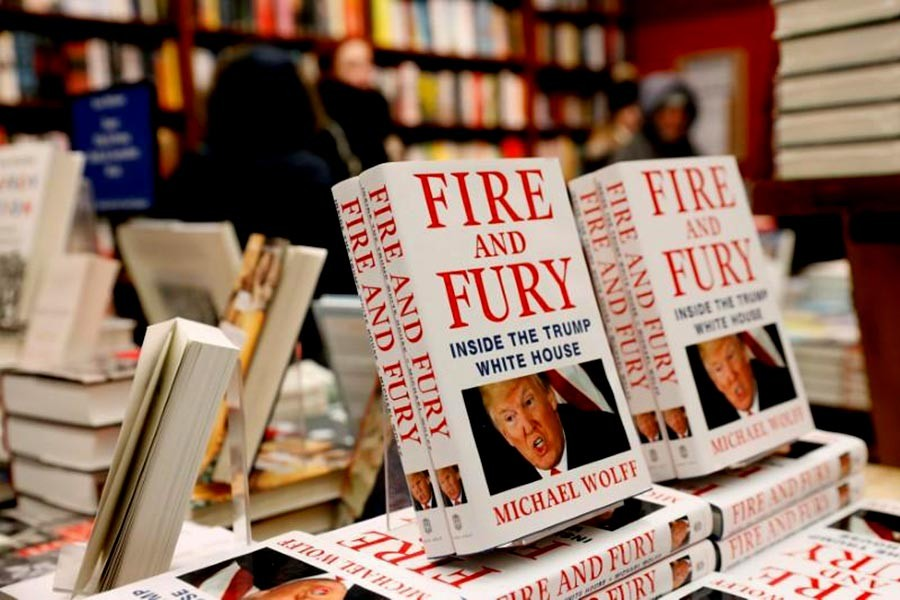 'Fire and Fury' revelations will bring down Trump: Author