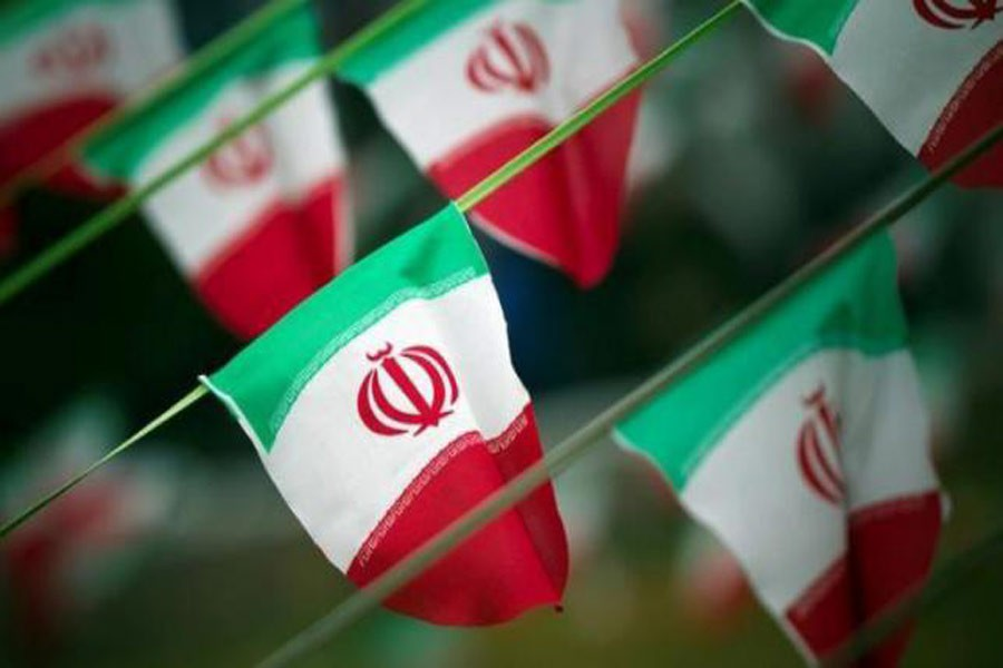 Iran's national flags are seen on a square in Tehran February 10, 2012, a day before the anniversary of the Islamic Revolution. Reuters File Photo