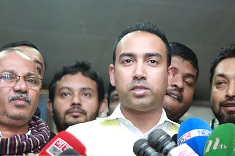 BNP chooses Tabith for Dhaka North mayoral run