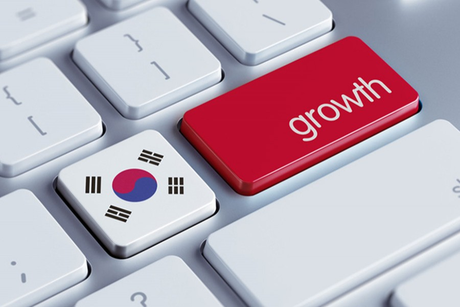 South Korea Q4 GDP grows 0.1pc