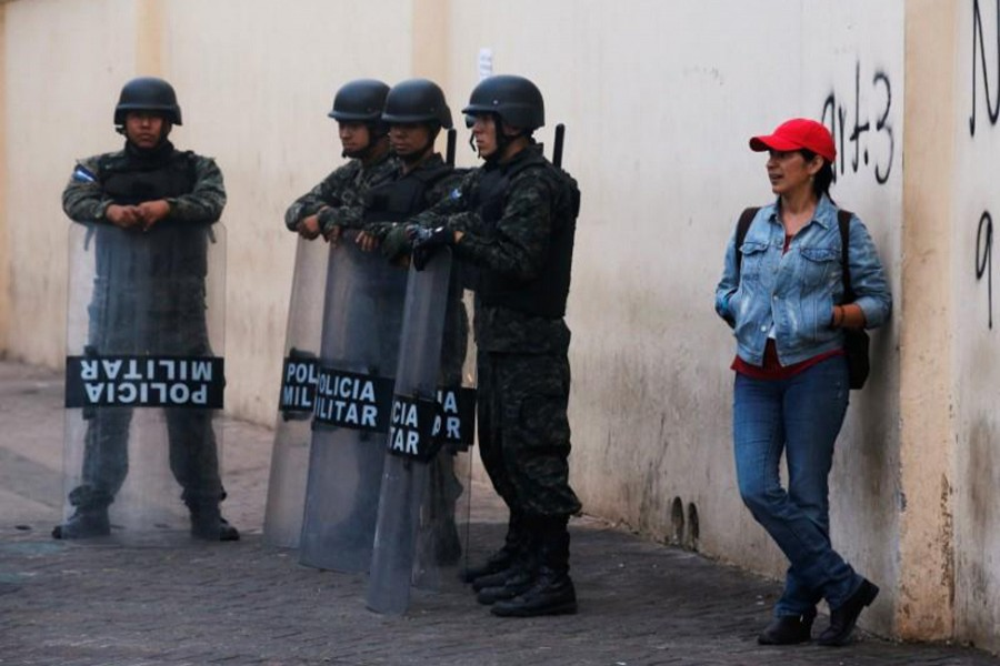Hondurus security forces have been deployed in the capital, Tegucigalpa. - Reuters file photo used for representation.