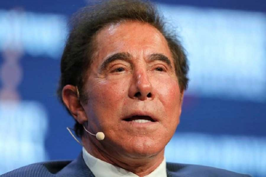 Steve Wynn, Chairman and CEO of Wynn Resorts, speaks during the Milken Institute Global Conference in Beverly Hills, California, US, May 3, 2017. Reuters/File Photo