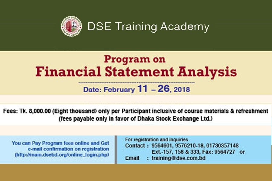 Dse Arranges Training On Financial Statement Analysis