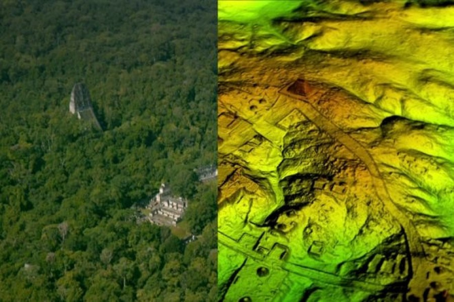 The Mayan city of Tikal was surrounded by a complex network of previously undiscovered structures and causeways