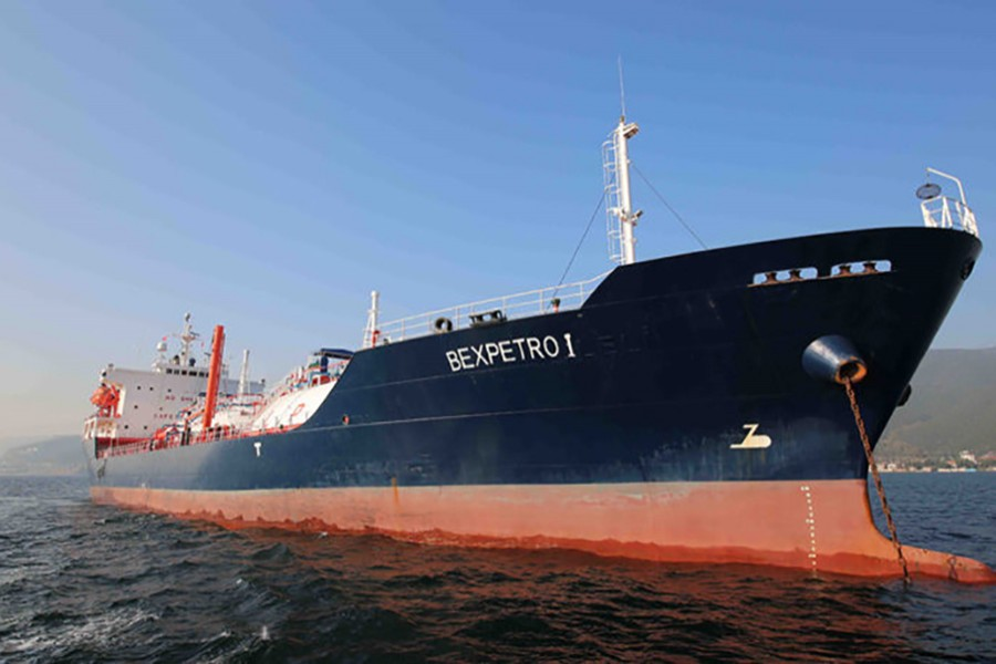 BEXPETRO, a vessel of Beximco Petroleum Limited, seen in this internet photo.