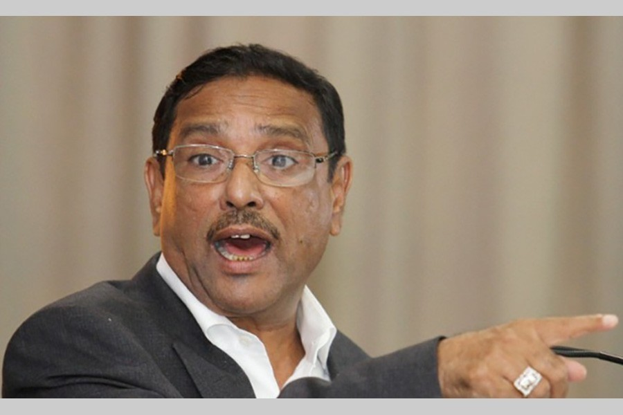 Quader says BNP at war against court
