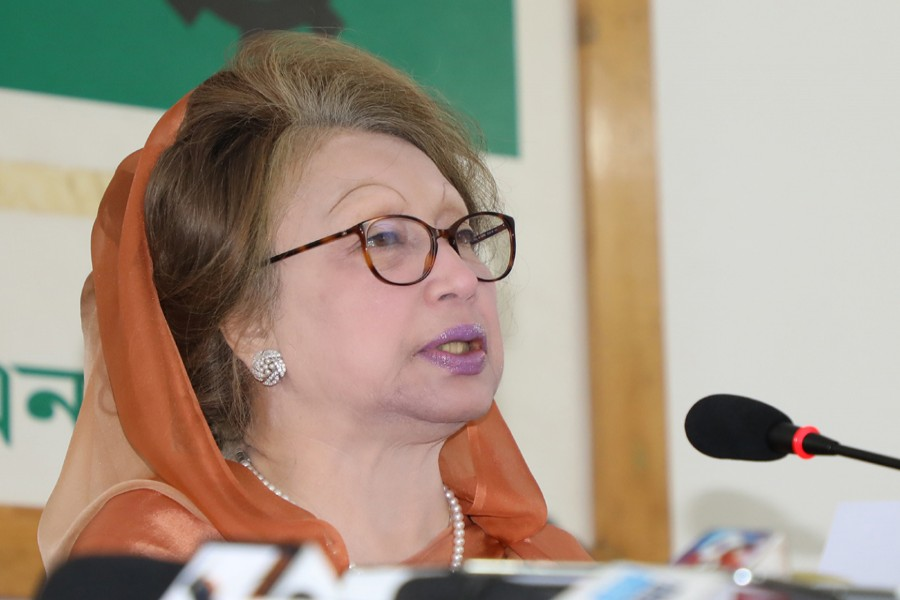 Khaleda turns emotional, recalls loss of near and dear ones