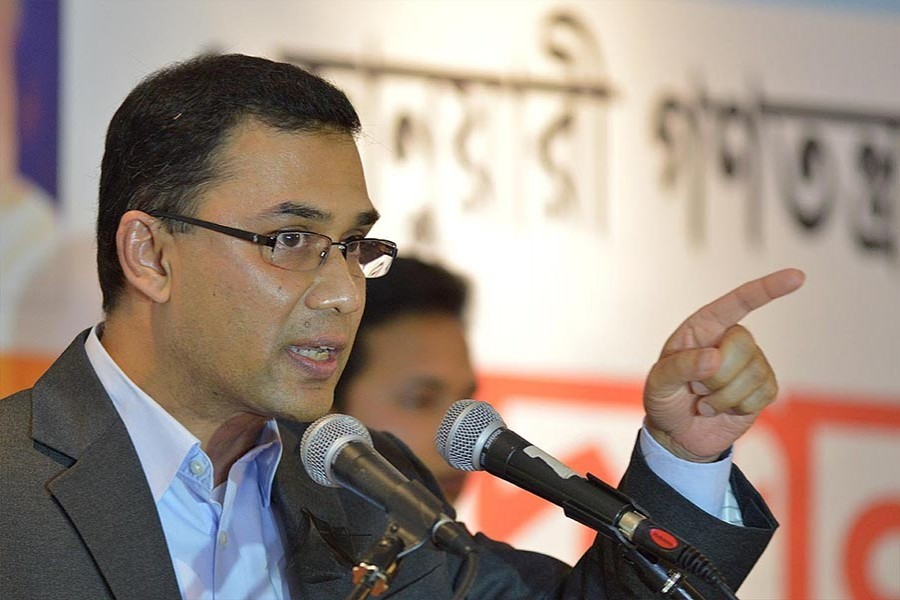 Tarique to run BNP as acting chief from London