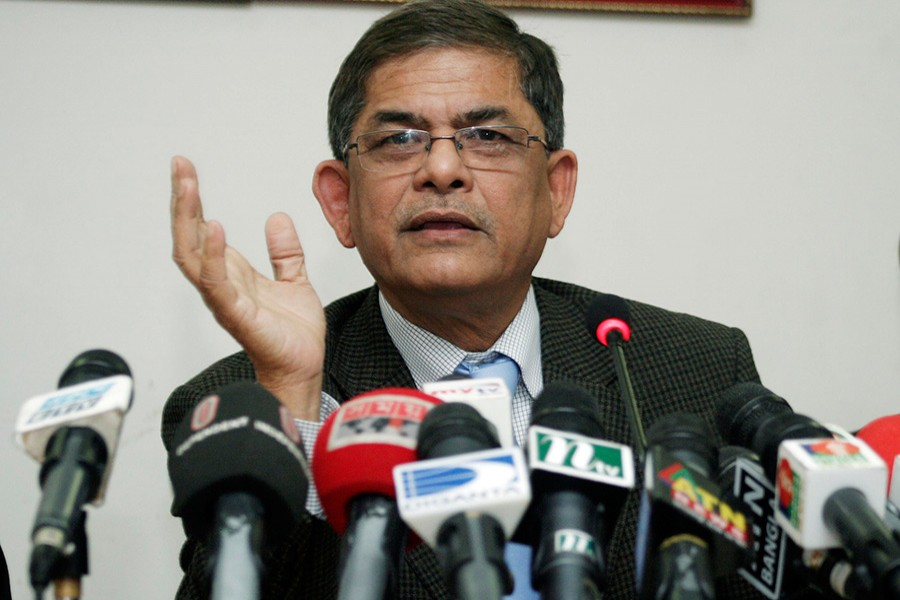 BNP Secretary General Mirza Fakhrul Islam Alamgir. - Collected