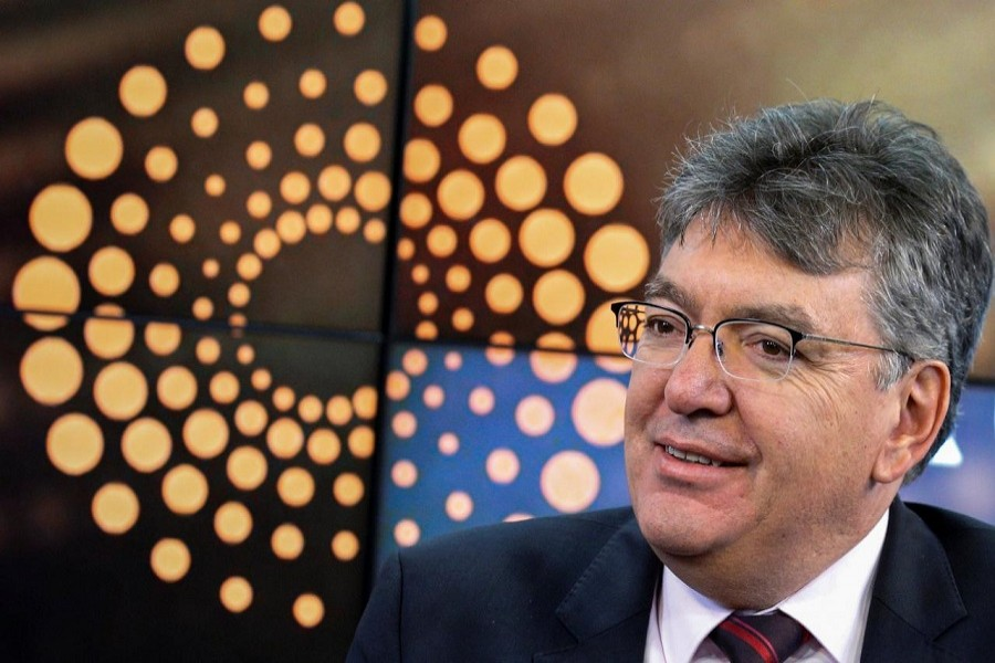 Colombia's Finance Minister Mauricio Cardenas speaks during an interview with Reuters in New York, US, February 9, 2018. Reuters