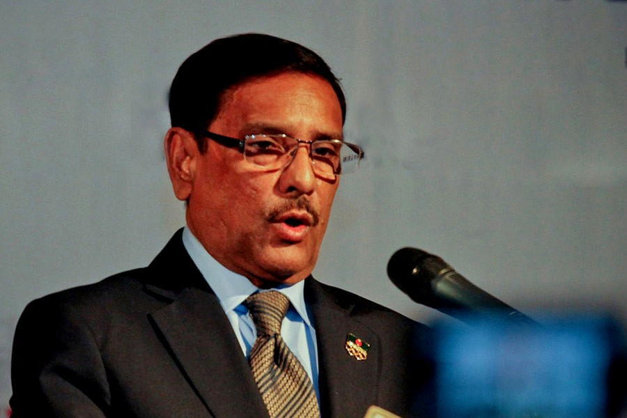 Tarique enough to intensify BNP crisis: Obaidul Quader
