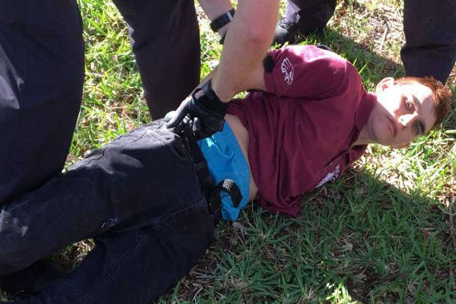 Nikolas Cruz was arrested an hour after the attack. - WPTV