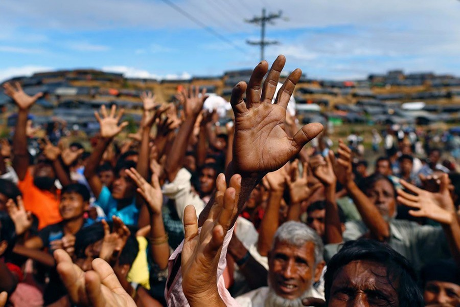 Rohingyas see no respite in sight even after six months