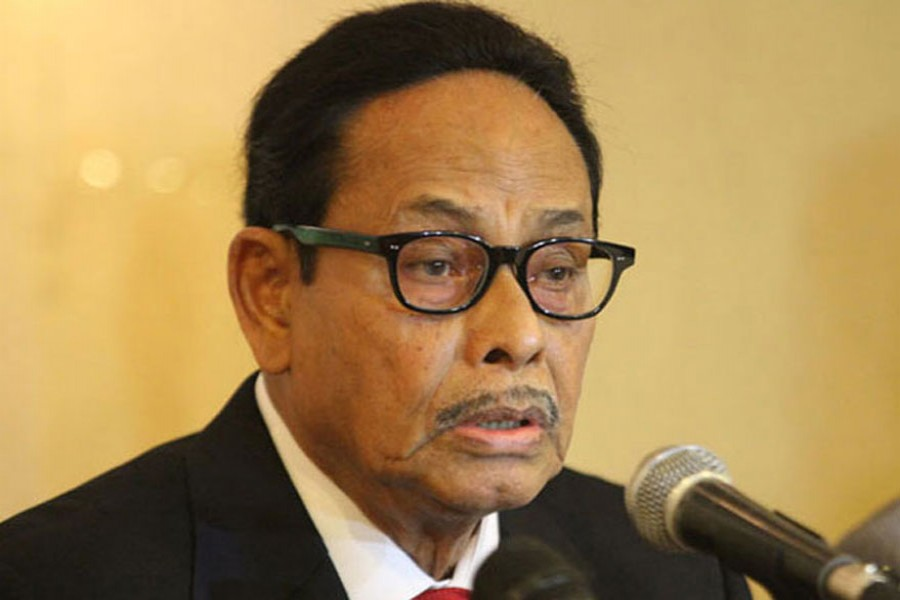 JP's resignation from Cabinet a matter of time: Ershad