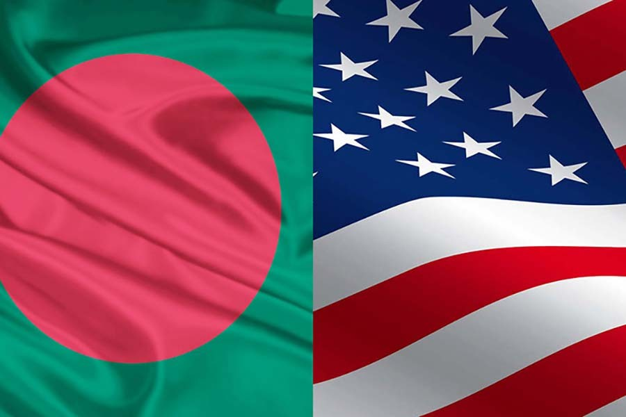 Out Of The Blue Bangladesh Us Trade Talks