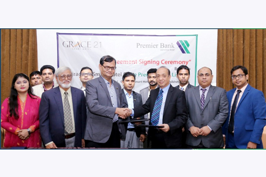 Premier Bank inks MoU with Grace 21 Hotel