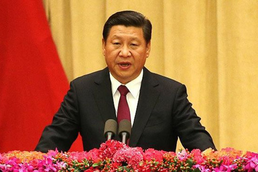 Xi Jinping laid out his grand vision for China's future. BBC/File Photo