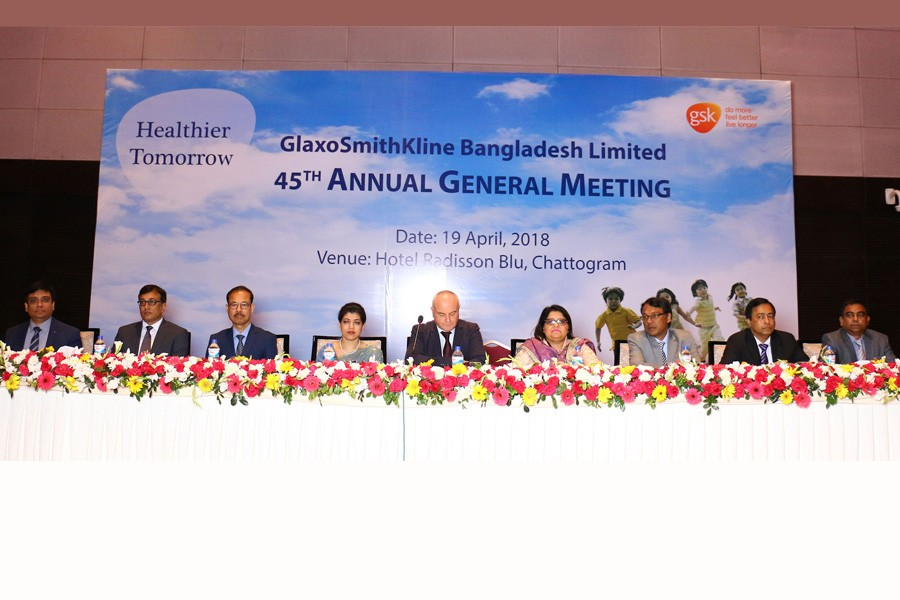 GSK holds AGM, approves 550pc dividend