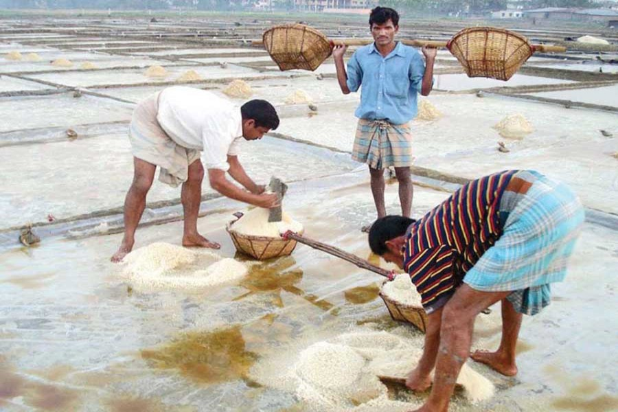 Salt production may fall short of target this year