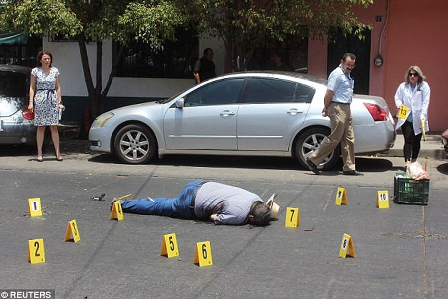 Valdez was gunned down just blocks from the office of Riodoce, the newspaper he founded.