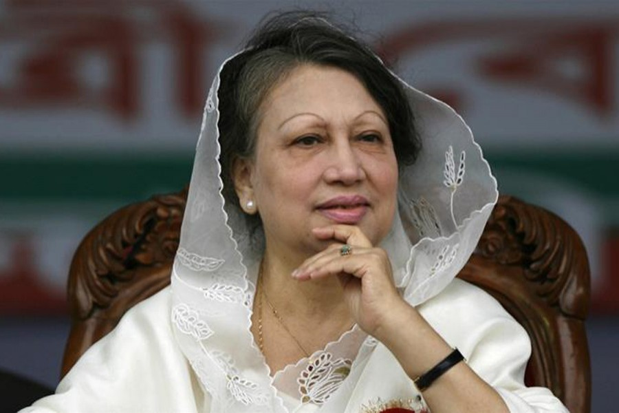 Khaleda Zia was imprisoned in February on embezzlement charges. Reuters/File Photo