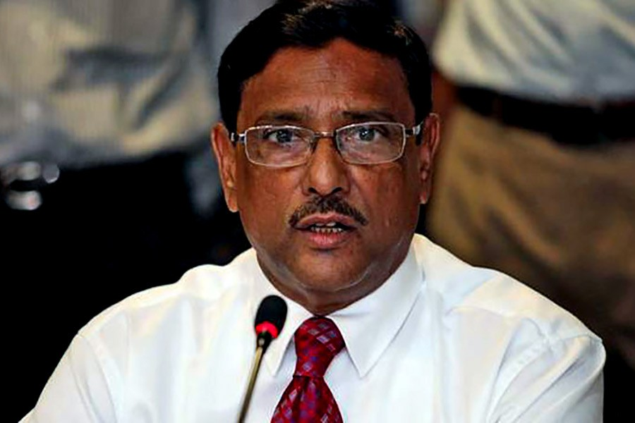 BNP losing support for negative politics: Obaidul Quader