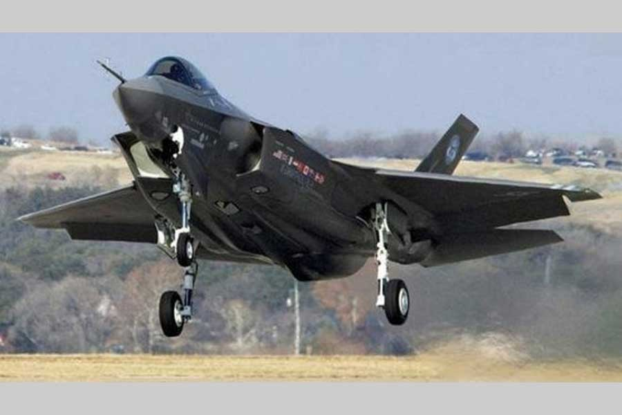 F-35, most advanced fighter jet, embarks on first action