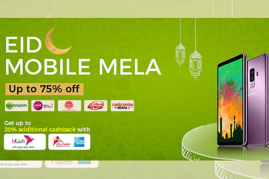 Daraz offers up to 75pc discount on smartphones