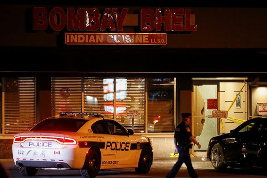 Bombing at restaurant leaves 15 injured in Canada