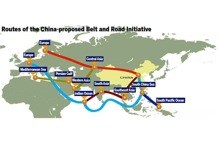 'One Belt, One Road' and South Asian geopolitics