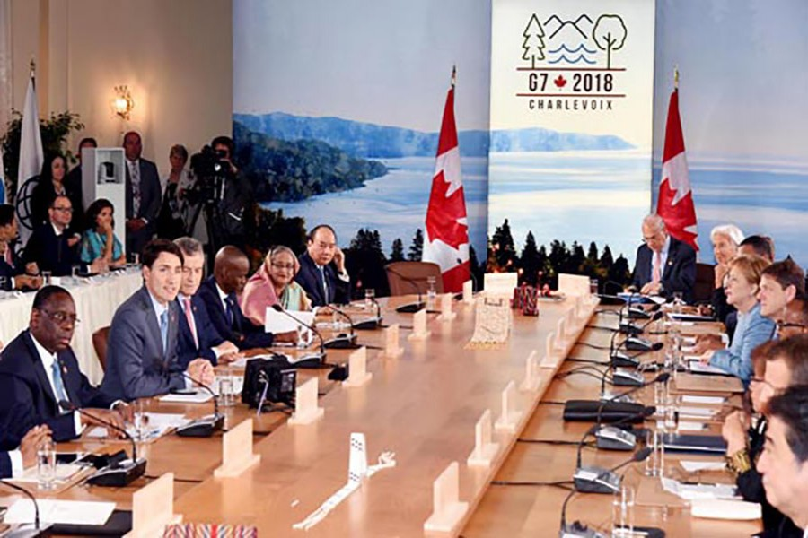 PM seeks partnership among G7, vulnerable countries on blue economy