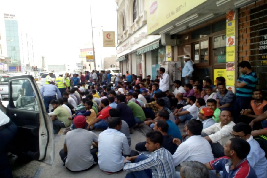 450 workers mainly from BD, India stranded in Bahrain