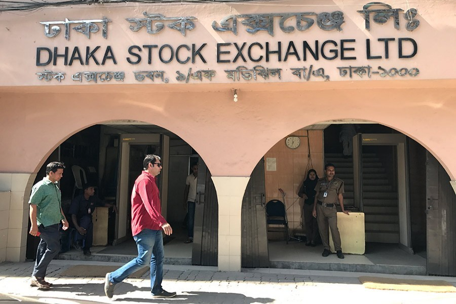 Stocks open down in early trading after Eid holidays