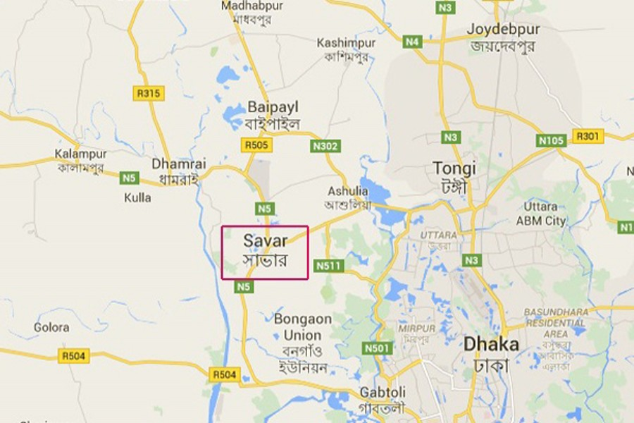 Cops recover bodies of man, woman in Savar