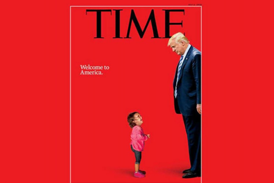 Trump makes it to Time's cover again