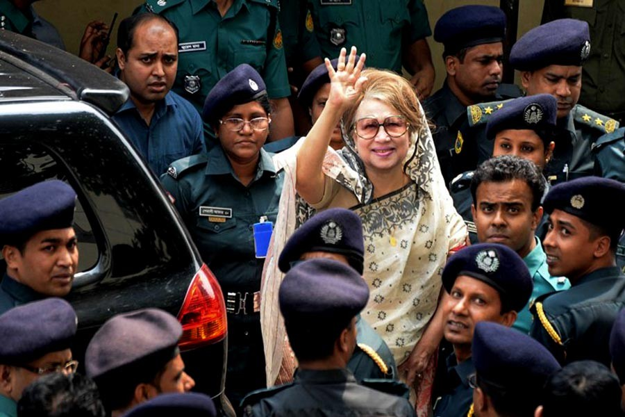 Relatives fail to meet Khaleda