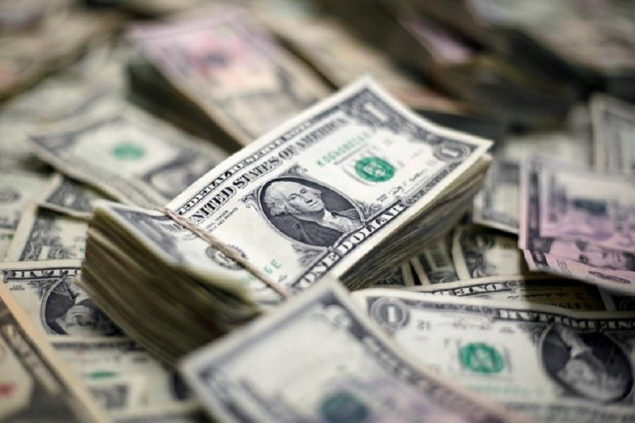 US Dollar banknotes are seen in this photo illustration taken February 12, 2018. Reuters/Illustration/File Photo