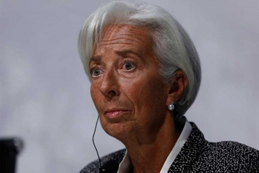 International Monetary Fund (IMF) Managing Director Christine Lagarde attends a news conference in Buenos Aires, Argentina, Jul 21, 2018. Reuters